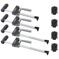 PARALLEL BAR CLAMP 4PC SET WITH BRACKETS