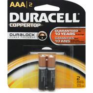 BATTERY 1.5V AAA 2/PK DURACELL BLISTERPK