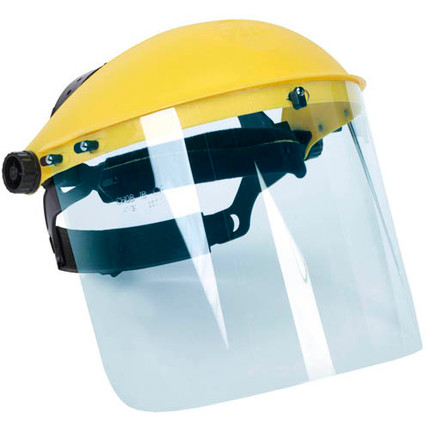 FACE SHIELD 15IN. X 8IN. X 0.060IN.