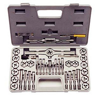 TAP AND DIE 40 PC SET METRIC