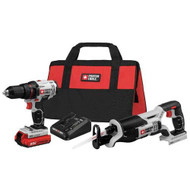 PORTER CABLE 20V MAX RECEIP AND SAW COMBO