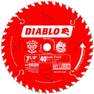 7 1/4IN. X 40T FINISHING BLADE DIABLO