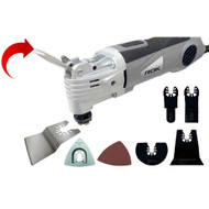 OSCILLATING MULTI TOOL QUICK CHANGE 25PC