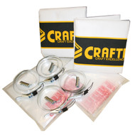DUST BAG KIT 8PC SET 1 MICRON