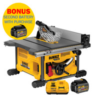 FLEX VOLT DEWALT 8 1/4IN. TABLE SAW KIT