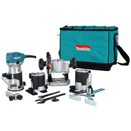 MAKITA 1 1/4HP 1/4IN. 3/8IN. TRIMMER KIT