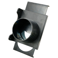 4IN. WALL MOUNT SELF CLEANING THREADED END