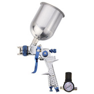 HVLP SPRAY GUN W/REGULATOR