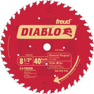 FREUD 8 1/2IN. 40TOOTH ATB FINISHING BLADE