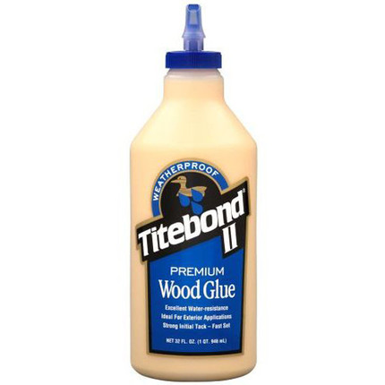 GLUE TITEBOND II 1 QUART WEATHER PROOF