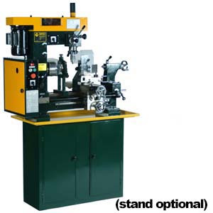 LATHE/MILL COMBINATION 110V 3/4HP 60HZ