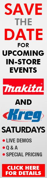 Makita and Kreg Saturday Demos