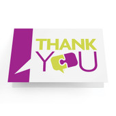 "Business Greeting Cards ""Thank You"" - Pack of 10"