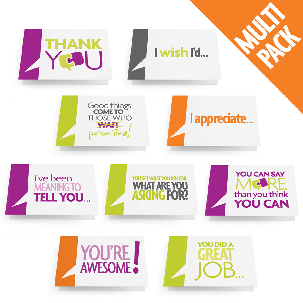 Business Greeting Cards Multi Pack Of 10 Candid Culture Press