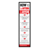 How to Say Anything to Anyone Bookmark - Set of 10