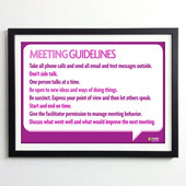 Office Posters - Making Meetings Work
