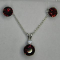 Garnet: Red Orange Spessartite MS-001