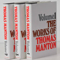 The Works of Thomas Manton, 3 Vols.