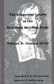 The Exegetical Labors of the Rev. Matthew Poole, Vol. 3: Genesis 23-50