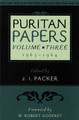 Puritan Papers, Vol. 3: 1963-1964 (Packer, ed.)