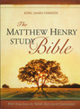 The Matthew Henry Study Bible: Hardcover, Indexed