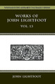 Works of John Lightfoot Vol. 13 (Hardcover)