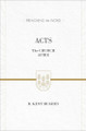 Acts: The Church Afire (Preaching the Word Series)
