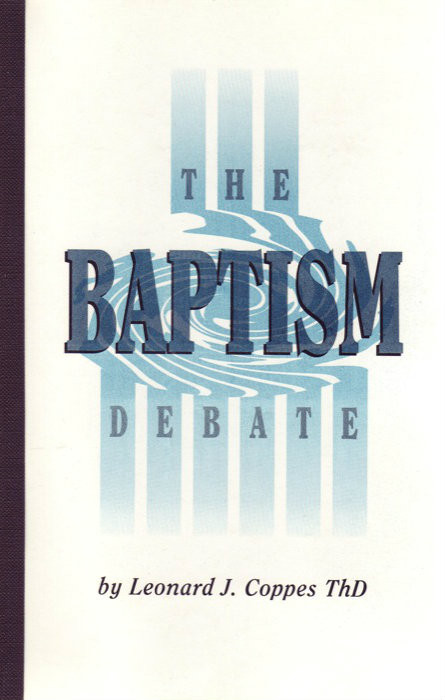 the baptism debate Does salvation occur through baptism if so, where does jesus fit in if not, what  purpose does baptism serve alistair begg walks us through.