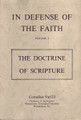In Defense of the Faith: Volume I - The Doctrine of Scripture (Van Til) (Westminster Discount)