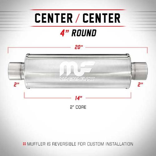 Magnaflow 10444_Stainless Resonator
