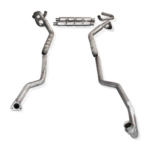 "1967-1968 Camaro | Small Block |  Stainless Works Dual 2.5"" Manifold-Back Exhaust System 