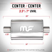 Magnaflow 11113_Satin Stainless Muffler