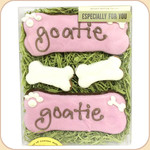 "Boxed Personalized! ""Bone"" Treats--Assorted Colors"