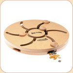 Dog &quot;Slots&quot; Wooden Treat Puzzle