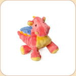 One Plush Coral Mini Dragon