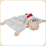 Santa Sheep Squeaker Mat