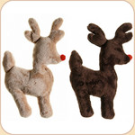 Rudolph the Plush Reindeer