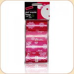 Pet Waste Flower Bag 8 Refill Rolls