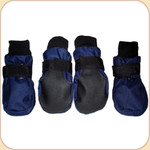 Paw Protector Booties in Navy x4