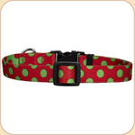 Holiday Polka Dot Collar