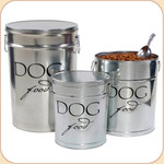 Food Storage Can & Scoop-- 3 Sizes Dog