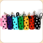 Dog Bag Duffle Holder--Handle Tie Roll