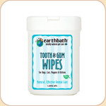 earthbath Tooth &amp; Gum Wipes