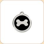 Enamel/Stainless Dog Bone #2 11 Color Options