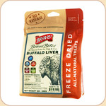 Bravo! Buffalo Liver Bites for Dogs & Cats