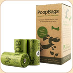 PoopBags Green 8 Refill Rolls