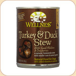 Wellness Turkey & Duck Stew Dog Can