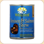 Wellness Venison & Salmon Stew Dog Can