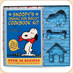 Snoopy Dog Treat Cookbook Kit