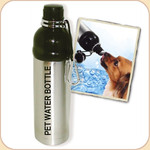 Stainless Pet Water Bottle/ 24 oz